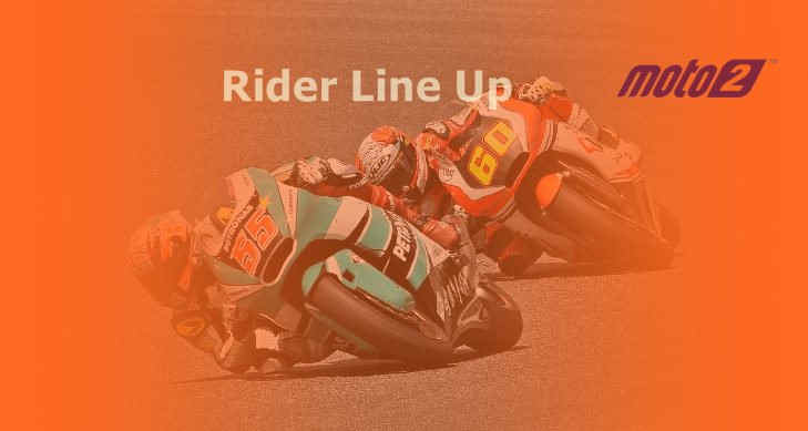 Daftar Pembalap Moto2 2021