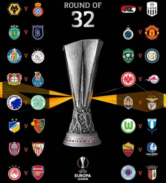 Hasil Undian Liga Europa