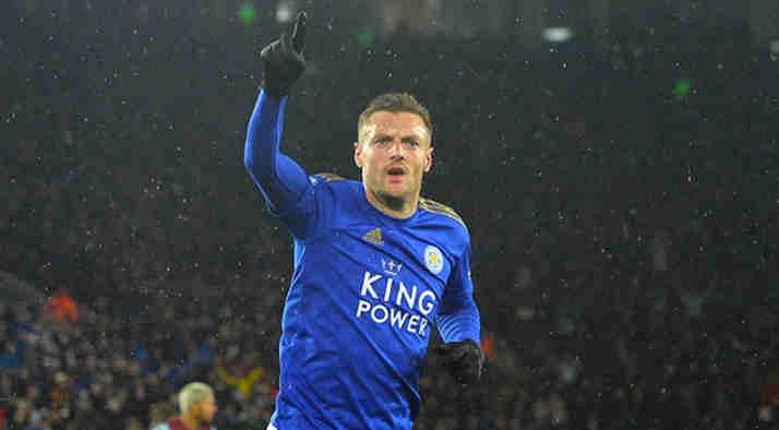 Leicester city bantai Aston Villa