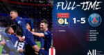 Cuplikan Gol Lyon vs PSG