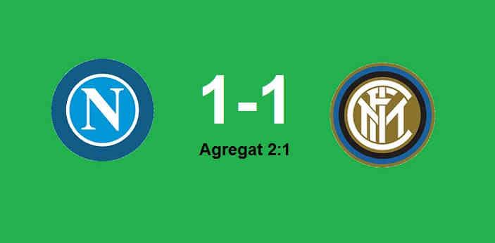 Hasil Napoli vs Inter Milan tadi malam
