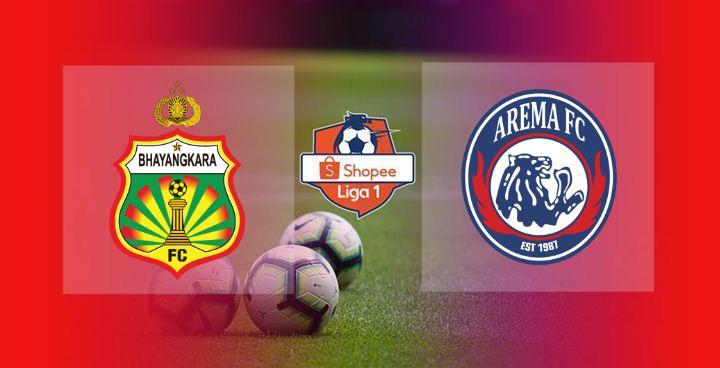 Live Streaming Bhayangkara FC vs Arema FC