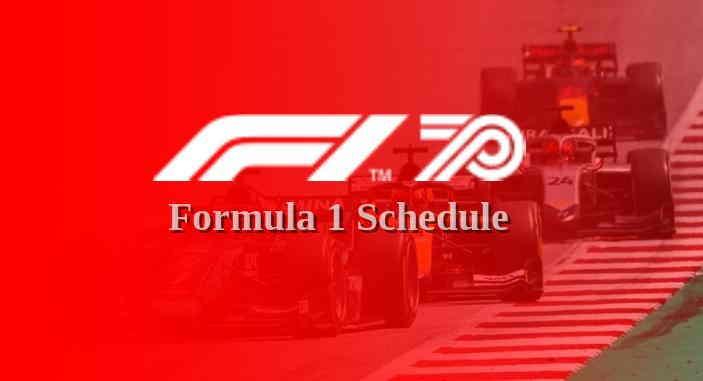 Jadwal F1 2021 Live TV