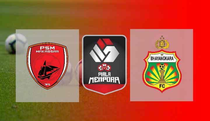 Hasil PSM Makassar vs Bhayangkara Solo FC FC