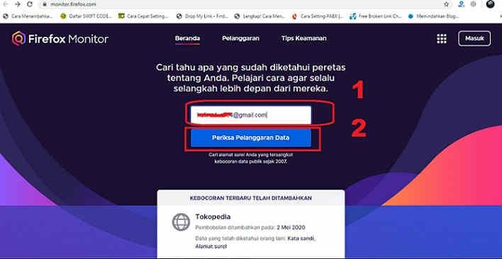 Monitor Firefox : Cara Cek Email Ecommerce Yang Di Hack 1