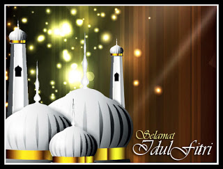 Gambar Idul Fitri Mesjid Megah