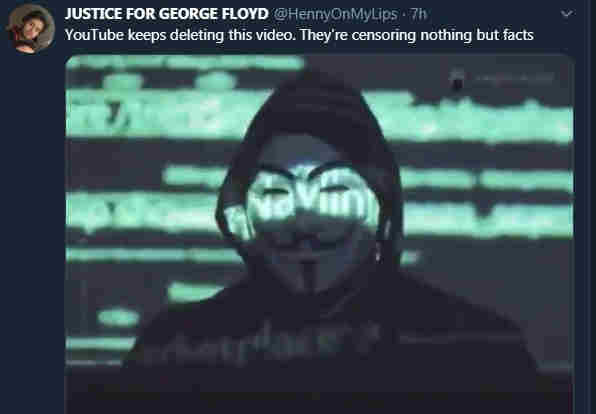 Video Full Anonymous Terkait Kematian George Floyd