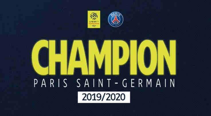 PSG Juara musim 2019-2020