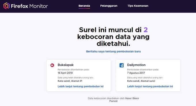 Monitor Firefox : Cara Cek Email Ecommerce Yang Di Hack 2