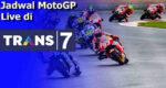 Jadwal MotoGP 2021 di Trans7