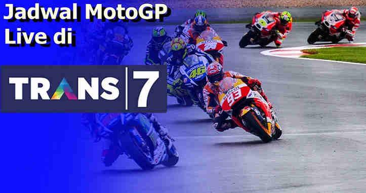 Jadwal MotoGP 2020 di Trans7