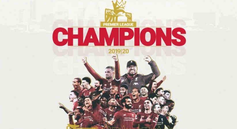 Liverpool Juara Liga Inggris 2019-2020