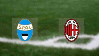 Hasil SPAL vs AC Milan