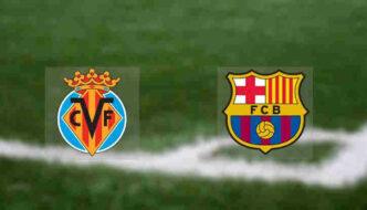 Hasil Barcelona vs Villarreal