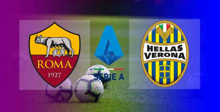 Hasil Hellas Verona vs AS Roma