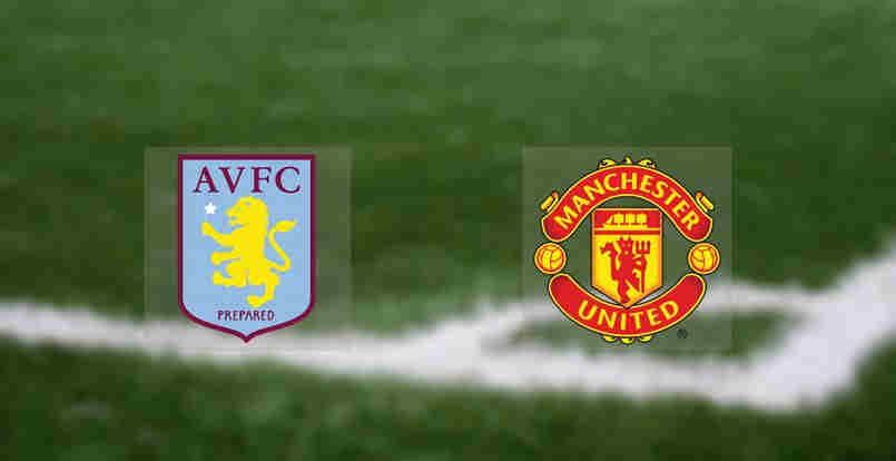 Hasil Manchester United vs Aston Villa