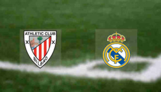 Hasil Real Madrid vs Athletic Bilbao