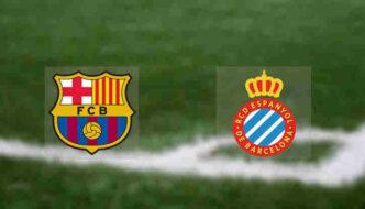 Hasil Barcelona vs Espanyol