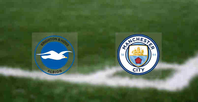 Hasil Manchester City vs Brighton