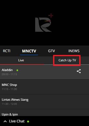 Siaran Ulang Global TV