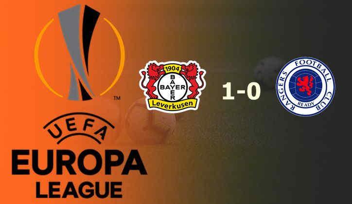 Hasil Leverkusen vs Rangers (Agregat 4:1)