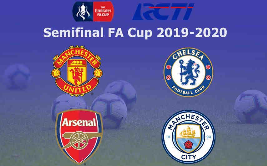 Jadwal Semifinal FA Cup