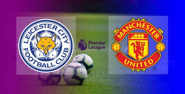 Hasil Leicester City vs Manchester United