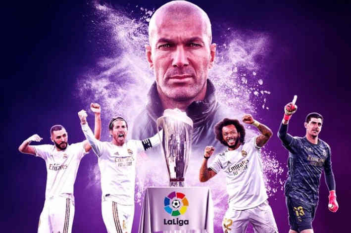 Madrid Juara Liga Spanyol 2019-2020
