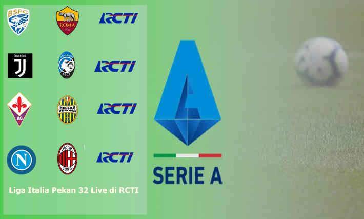 Jadwal Serie A RCTI Pekan ini