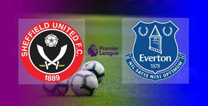 Hasl Sheffield United vs Everton