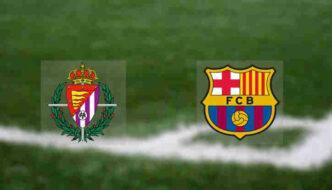 Hasil Barcelona vs Valladolid