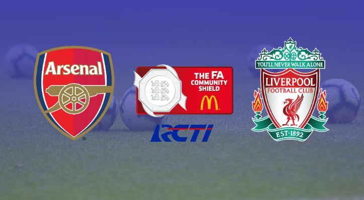 Arsenal Tantang Liverpool di FA Community Shield 2020