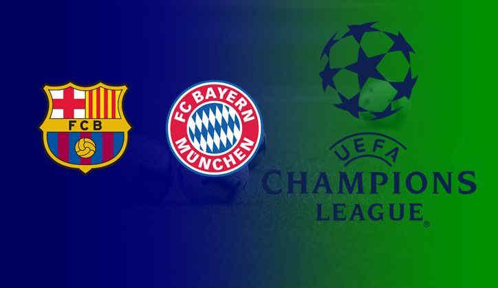 Barcelona vs Bayern Munchen UCL 2021