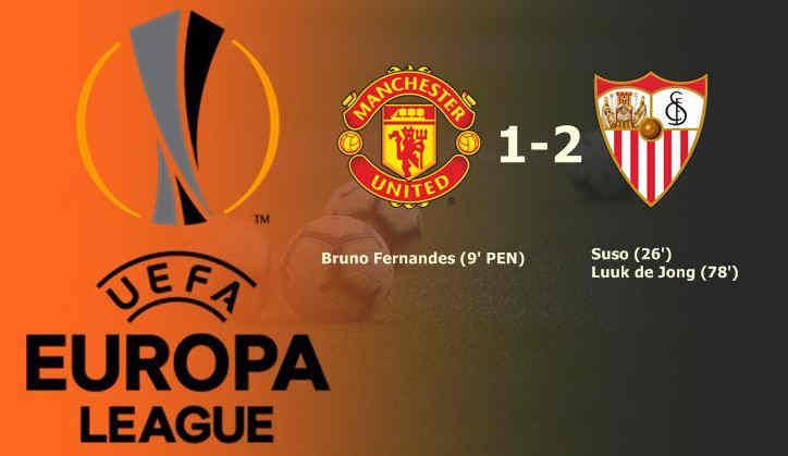 Hasil Manchester United vs Sevilla Liga Europa