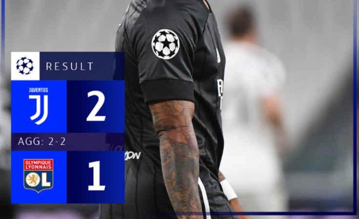 Juventus Gagal Ke Perempat Final Liga Champions