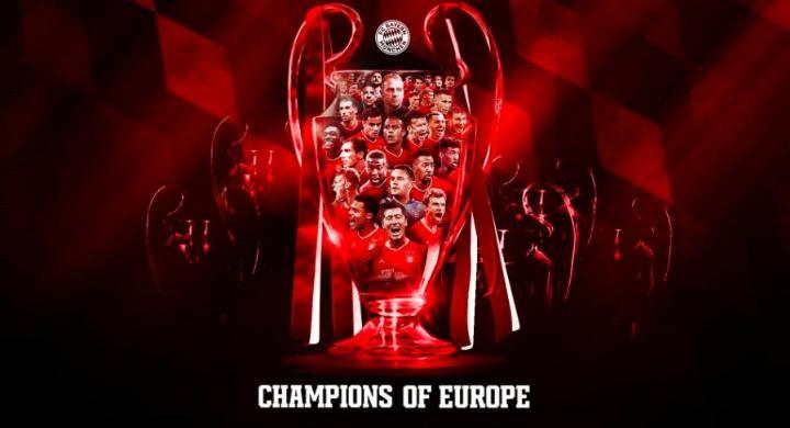 Bayern Munchen Raih Treble Winner