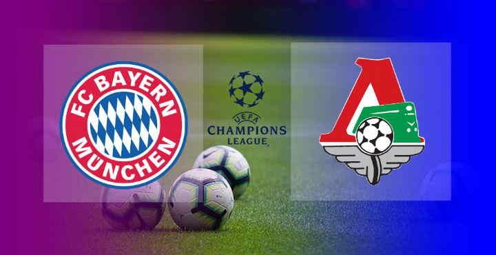 Hasil Lokomotiv Moskow vs Bayern Munchen