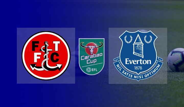 Hasil Fleetwood vs Everton Akhir 2-5 (Carabao Cup)