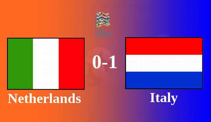 Hasil Belanda vs Italia