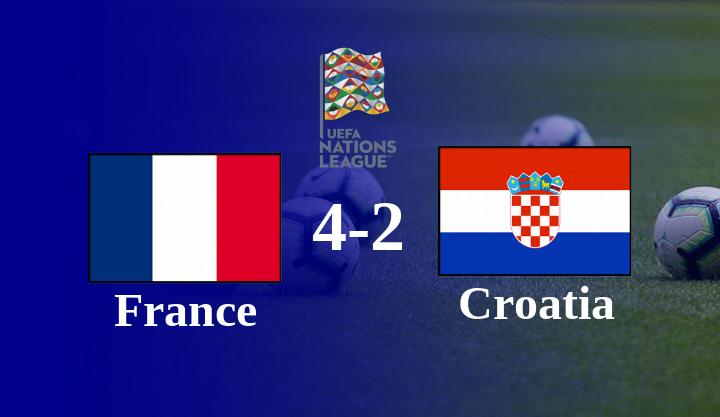 Hasil Perancis vs Kroasia