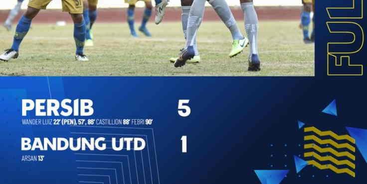 Hasil Persib vs Bandung United