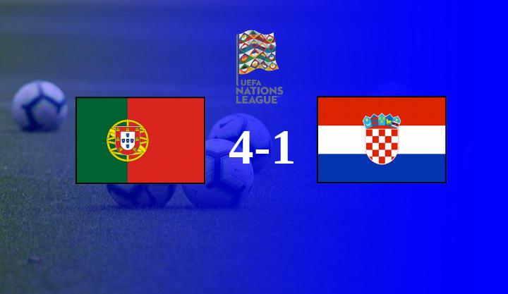 Hasil Portugal vs Kroasia