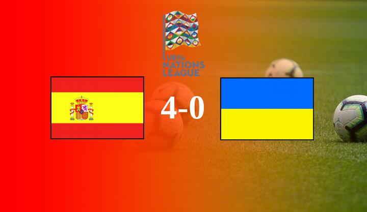 Hasil Spanyol vs Ukraina Tadi Malam