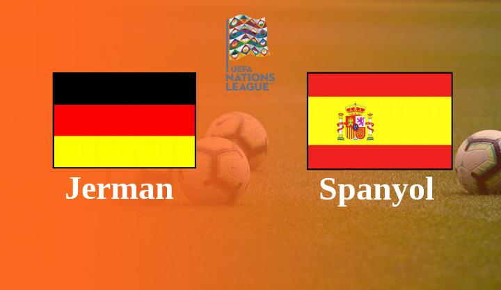 Hasil Jerman vs Spanyol