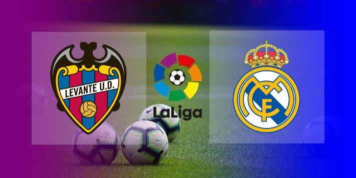 Hasil Levante vs Real Madrid Skor Akhir Imbang 3-3