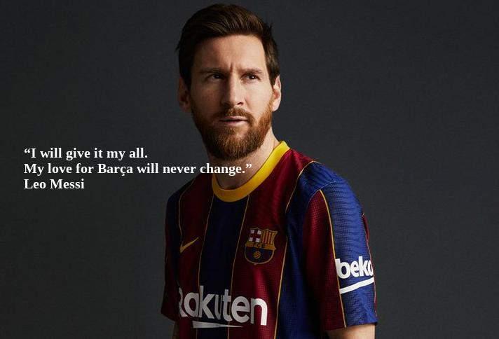 Messi Bertahan di barcelona