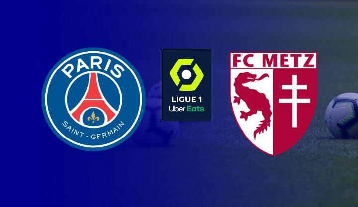 Hasil PSG vs Metz