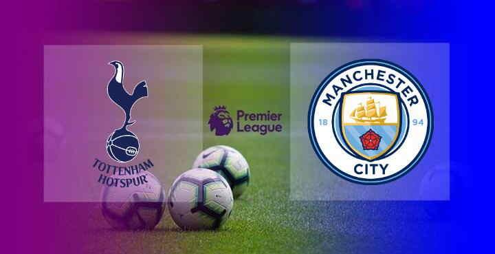 Hasil Tottenham vs Manchester City