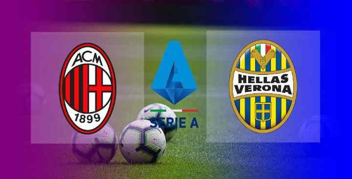 Hasil AC Milan vs Hellas Verona