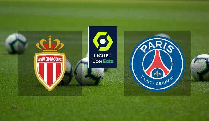 Hasil AS Monaco vs PSG